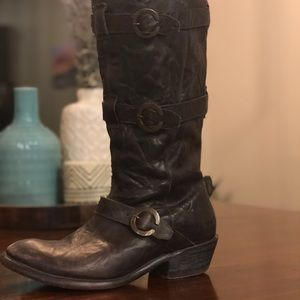 Ariat leather knee high boots